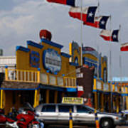 The Big Texan In Amarillo Art Print