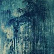 The Big, The Rain, Retro Art Print