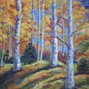 The Birches Art Print