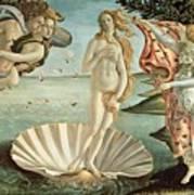 The Birth Of Venus Art Print by Sandro Botticelli