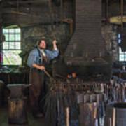 The Blacksmith Art Print