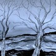 The Bleak Terrain  Art Print