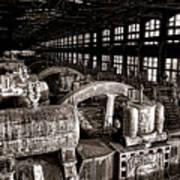 The Blower House At Bethlehem Steel  Art Print