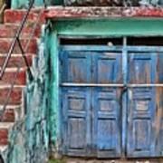 The Blue Door - India Art Print