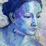 The Blue Jewel Art Print