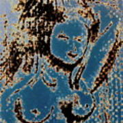 The Blue Nude Art Print