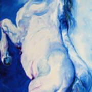 The Blue Roan Print by Marcia Baldwin