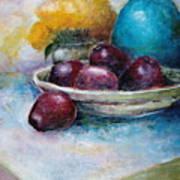 The Blue Vase Iv Art Print