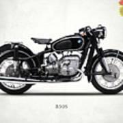The R50s Motorcycle Art Print