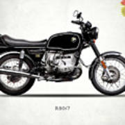 The R80 Motorcycle 1978 Art Print