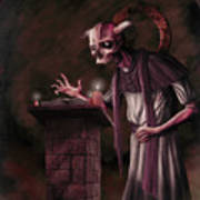 The Bone Priest Art Print