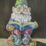 The Book Gnome Art Print