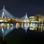 The Boston Bridge Art Print