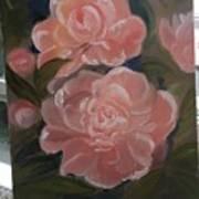The Bouquet Of Peonies Art Print