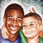 The Boys  Art Print