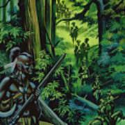 The Braddock Expedition Art Print