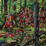 The Braddock Massacre Art Print