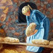 The Breadbaker Art Print