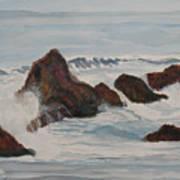 The Breakers At Seal Rock II Art Print