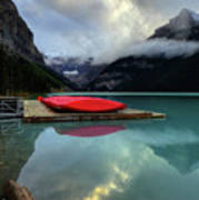 The Breathtakingly Beautiful Lake Louise II Art Print