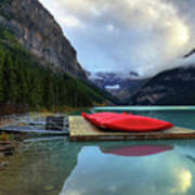 The Breathtakingly Beautiful Lake Louise IIi Art Print