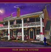 The Brick Store Art Print