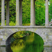 The Bridge Across The Pond Art Print