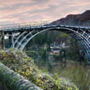 The Bridge Across The Severn Gorge Art Print