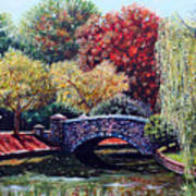 The Bridge At Freedom Park Art Print