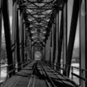 The Bridge At Mile 225 Art Print
