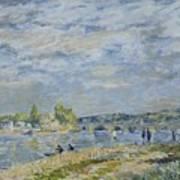 The Bridge Near Sevres Art Print