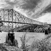The Bridge Of The Gods Art Print
