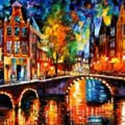 The Bridges Of Amsterdam Art Print