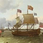 The Britannia In Rotterdam Art Print