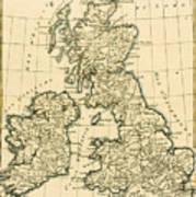 The British Isles Art Print