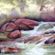 The Brook Art Print by Patricia Seitz