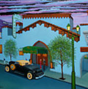 The Brown Derby Art Print