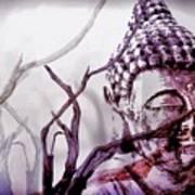The Buddhist Sticks  Art Print