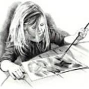 The Budding Artist Art Print