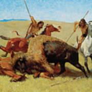 The Buffalo Hunt Art Print
