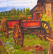 The Buggy, 11x14, Oil, '07 Art Print