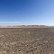 The Bulbus Rock Field In Front Of Mount Zin Art Print