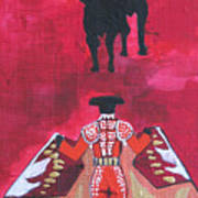 The Bull Fight  No.1 Art Print