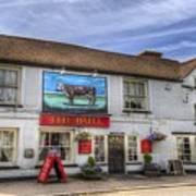 The Bull Pub Theydon Bois Panorama Art Print