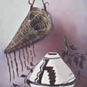 The Burden Basket Art Print by Alanna Hug-McAnnally