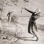 The Burr Hamilton Duel Art Print