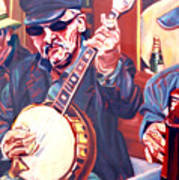 The Buskers Art Print