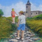 The Cabo Rojo Light House In Puerto Rico Art Print