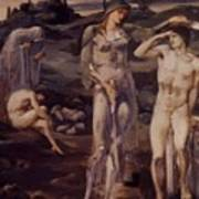 The Calling Of Perseus 1898 Art Print