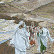 The Calling Of St. Andrew And St. John Art Print by Tissot